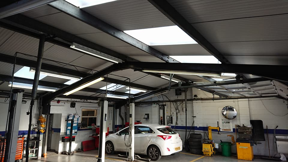 Everton Hyundai Garage Extension And Refurb Lsb